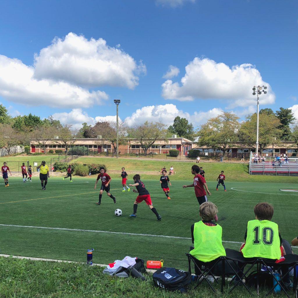 CYO soccer team