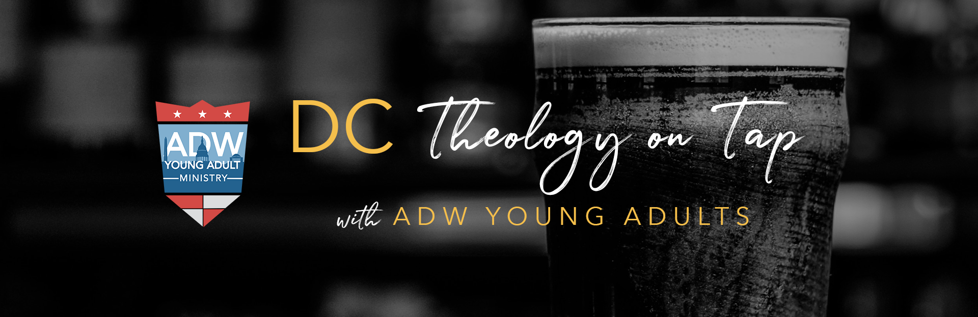ADW Young Adult Ministry Theology on Tap TOT